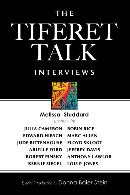 Cover of The Tiferet Talk Interviews by Melissa Studdard