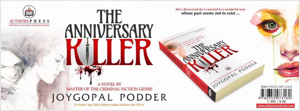 Cover of The Anniversary Killer by Joygopal Podder
