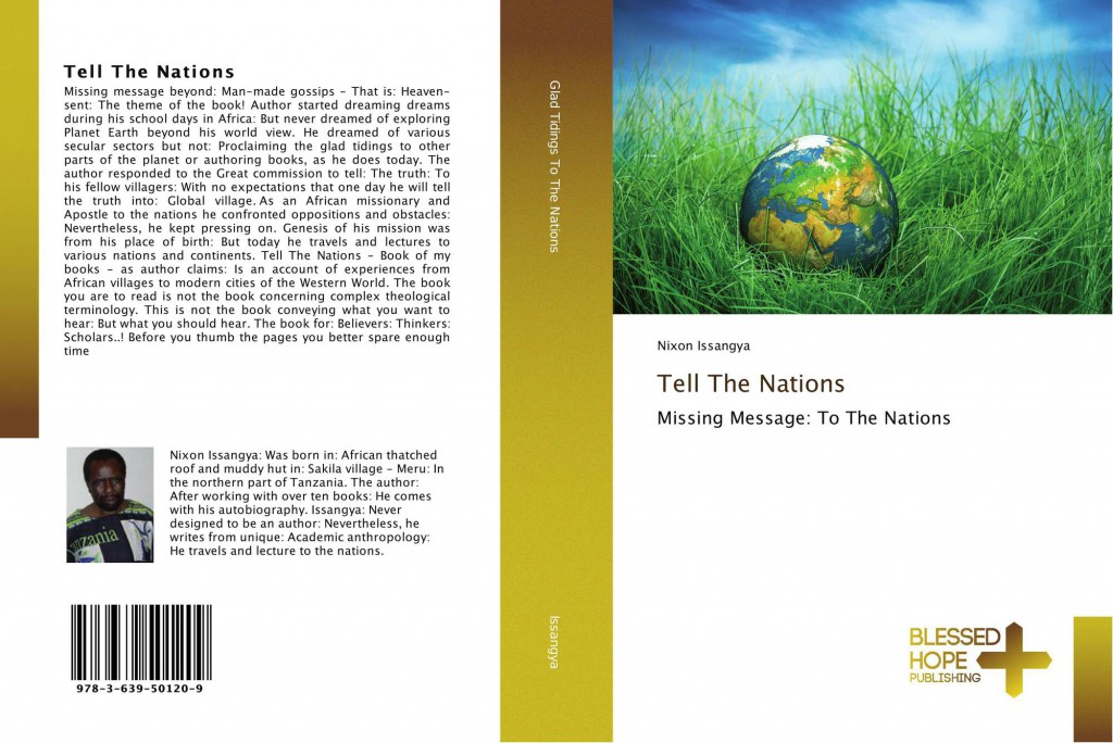 Cover of Tell The Nations by Nixon Issangya