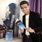 Faraaz Kazi and his book LOVE