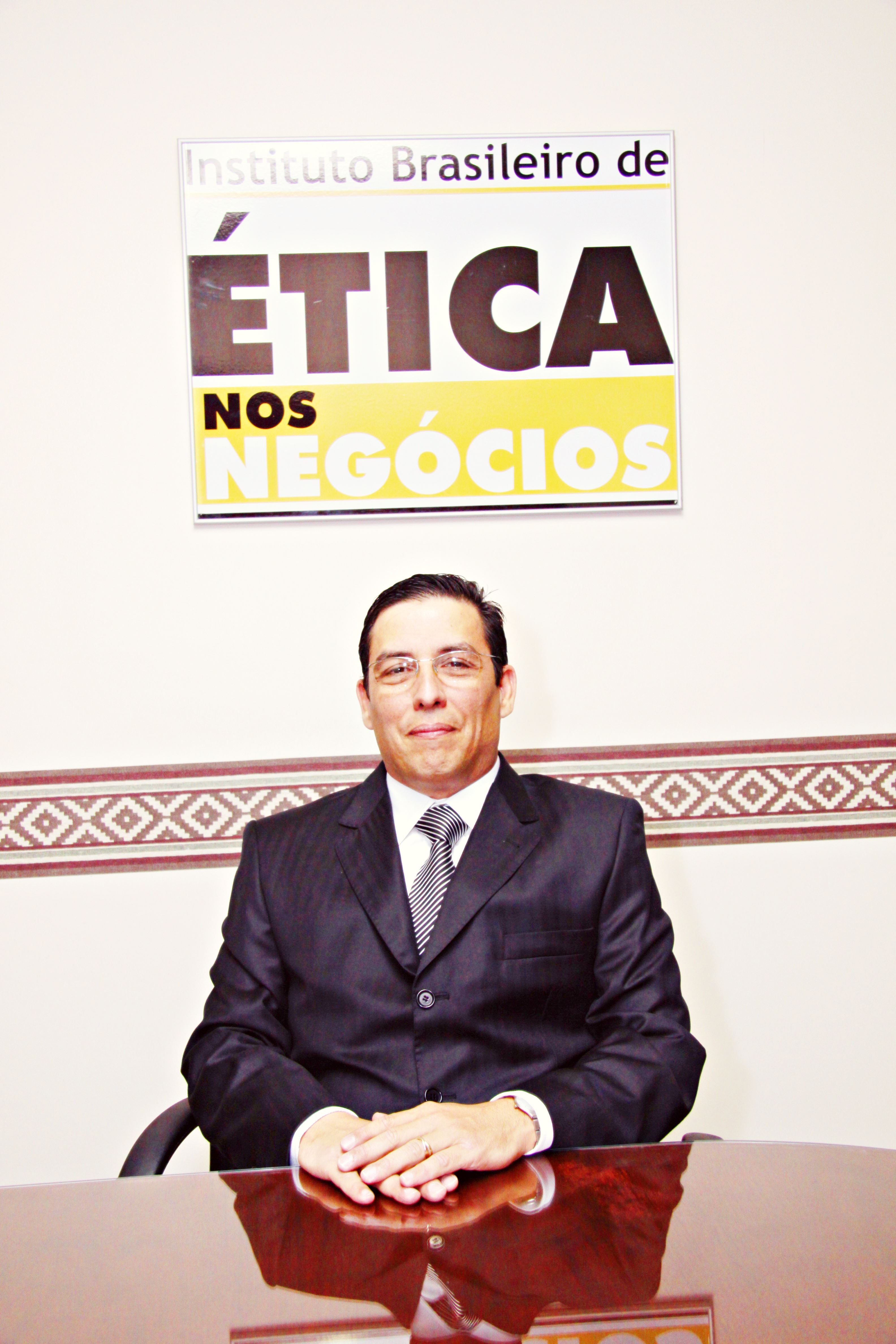 Interview with Douglas Linares Flinto in his office at Brazilian Business Ethics Institute